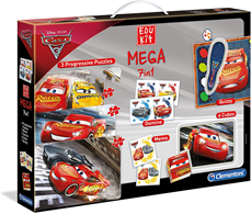 Puzzle Clementoni Edu Kit mega 7 u 1 Cars