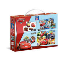 Mini Edu Kit 4 u 1 Cars 3+