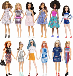 Barbie Fashionistas FBR37 Styles May Vary