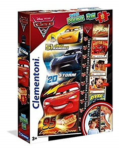 Maxi puzzle 30  i visinometar Cars