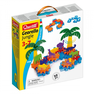 Quercetti konstruktivni set Georello Jungle 50 pcs