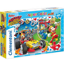 Maxi Super Color Puzzle 104 Mickey