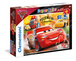 Maxi Super Color Puzzle 60 Cars