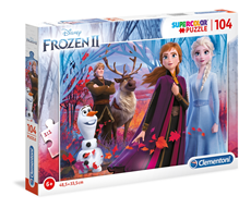 Puzzle Supercolor 104 Frozen 2