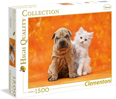 Puzzle Clementoni 1500 delova So Cute