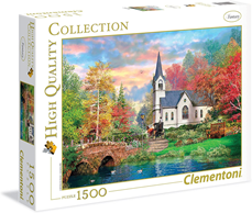 Puzzle Clementoni 1500 delova Colorful Autumn