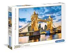 Puzzle Clementoni 2000 delova Tower Bridge