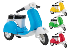 Vespa  metalna u displeyu