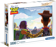 Puzle Clementoni 1000 delova The Art of Collection Toy Story
