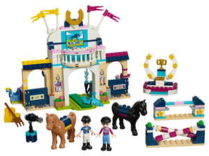 Lego Friends Stephanie's Horse Jumping set 41367