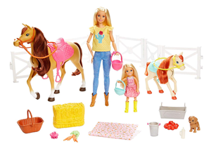 Barbie lutka set sa konjem