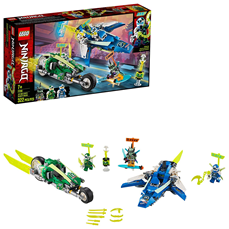 Lego Ninjago Jay and Lloyd's Super fast Racers