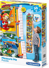 Maxi Puzzle 30 i visinometar Mickey