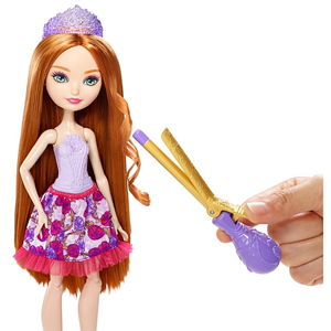 Ever After High Zlatokosina ćerka kod frizera