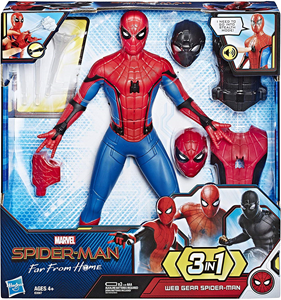 Spiderman deluxe figura sa dodacima set