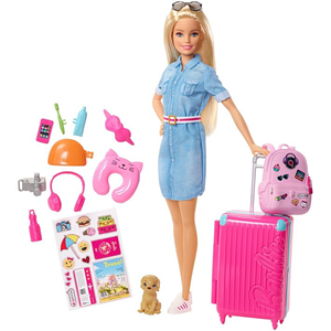 Barbie lutka travel FWV25