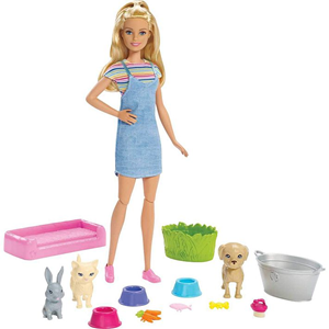 Barbie lutka Play and Wash Pets