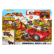 Hot Wheels Monster truck downhill Race&Go