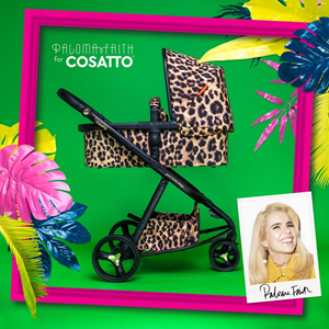 COSATTO KOLICA ZA BEBE GIGGLE 3 PALOMA FAITH HEAR US ROAR LIMITED EDITION