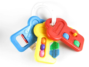 Fisher price Activity ključevi