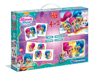 Edu Kit 4 u 1 Shimmer Shine