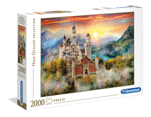 Puzzle Clementoni High Quality Collection 2000 Zamak