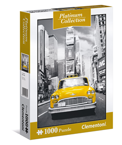 Platinum Collection Puzzle 1000 NY Taxi