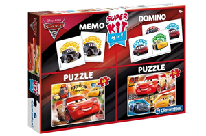 Super Kit 4 u 1 Cars 3