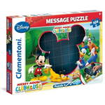 Message Puzzle 104 Mickey Mouse 6+