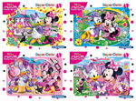 Super Color puzzle ram 15 Minie Mouse