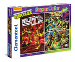 Super Color puzzle 3x48 Ninja Turtles 4+