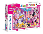 Super Color puzzle 60 Minnie Mouse 5+
