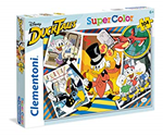 Super Color puzzle 140 Duck Tales