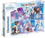 Super Color puzzle 104 Olaf Frozen