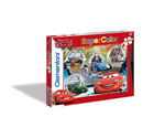 Super Color puzzle 104 Cars 6+