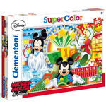 Super Color puzzle 250 Mickey Mouse 7+
