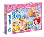 Super Color puzzle 250 Disney Princeze 7+