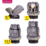 All in All Group 0+123 Car Seat Dawn Chours (5PP)