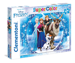 Super Color puzzle 140 Frozen 6+