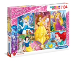 Puzle Clementoni Disney Princess Brilliant 104 6+
