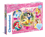 Glitter Puzzle 104 Disney Princess 6+