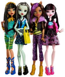 Monster High lutka fashion