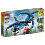 Lego Creator Twin Spin Helicopter 31049